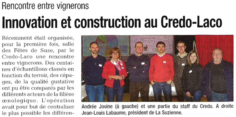 Innovation et construction au Credo-Laco